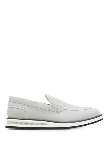 Barleycorn %100 Deri Klasik Ayakkabı Gri